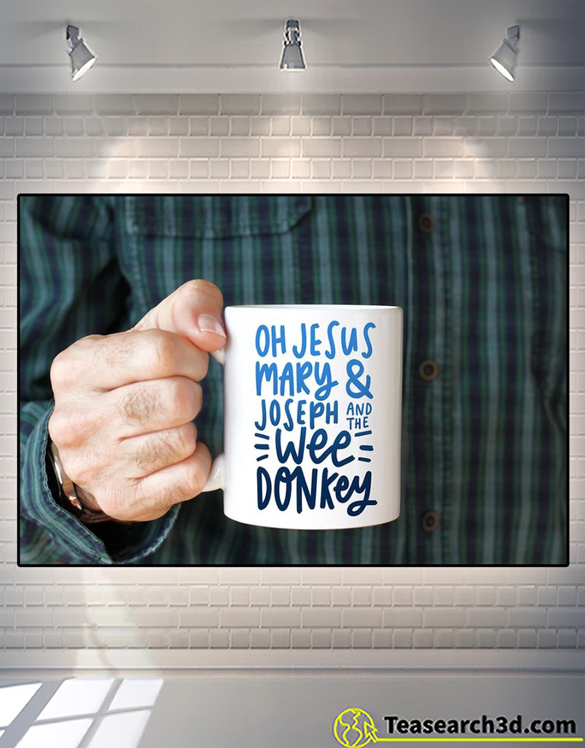 Oh jesus mary and joseph and the wee donkey mug 2