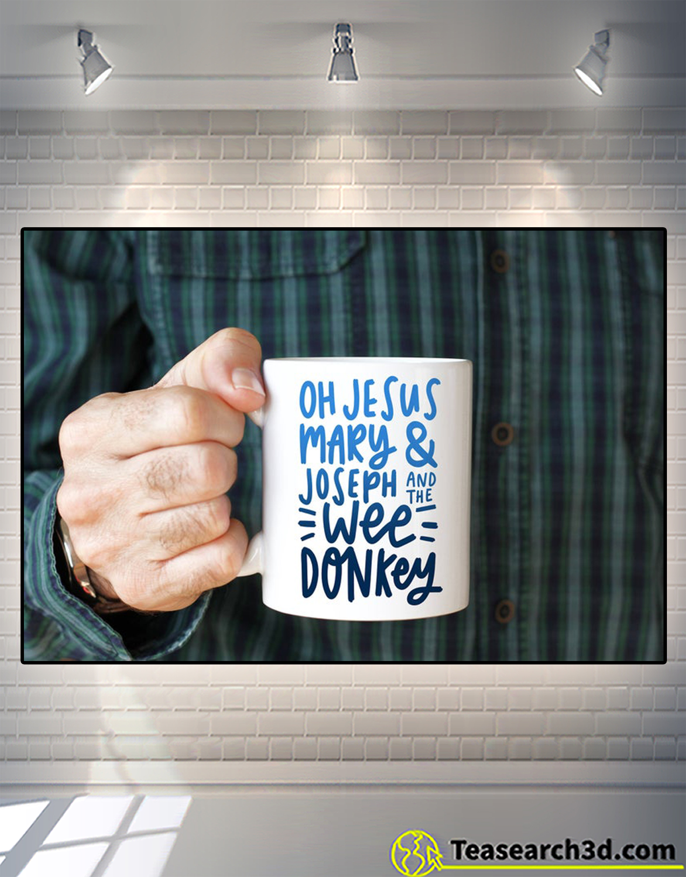 Oh jesus mary and joseph and the wee donkey mug