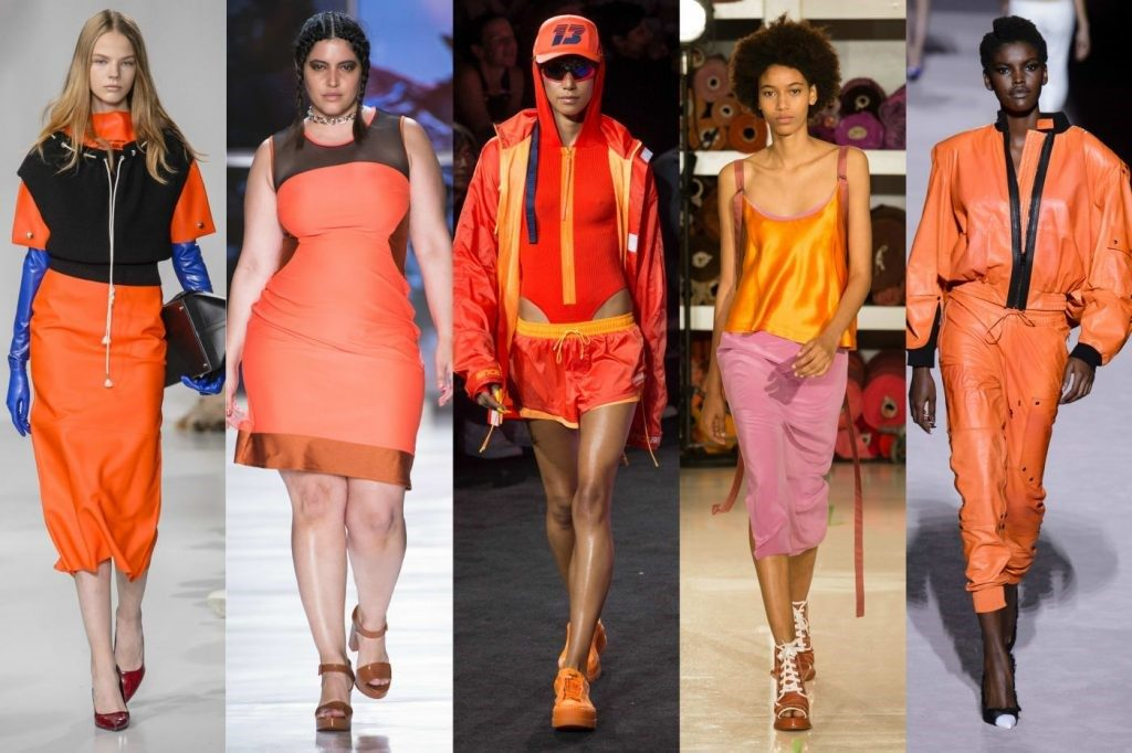 Orange color - mix and match to have the perfect outfit