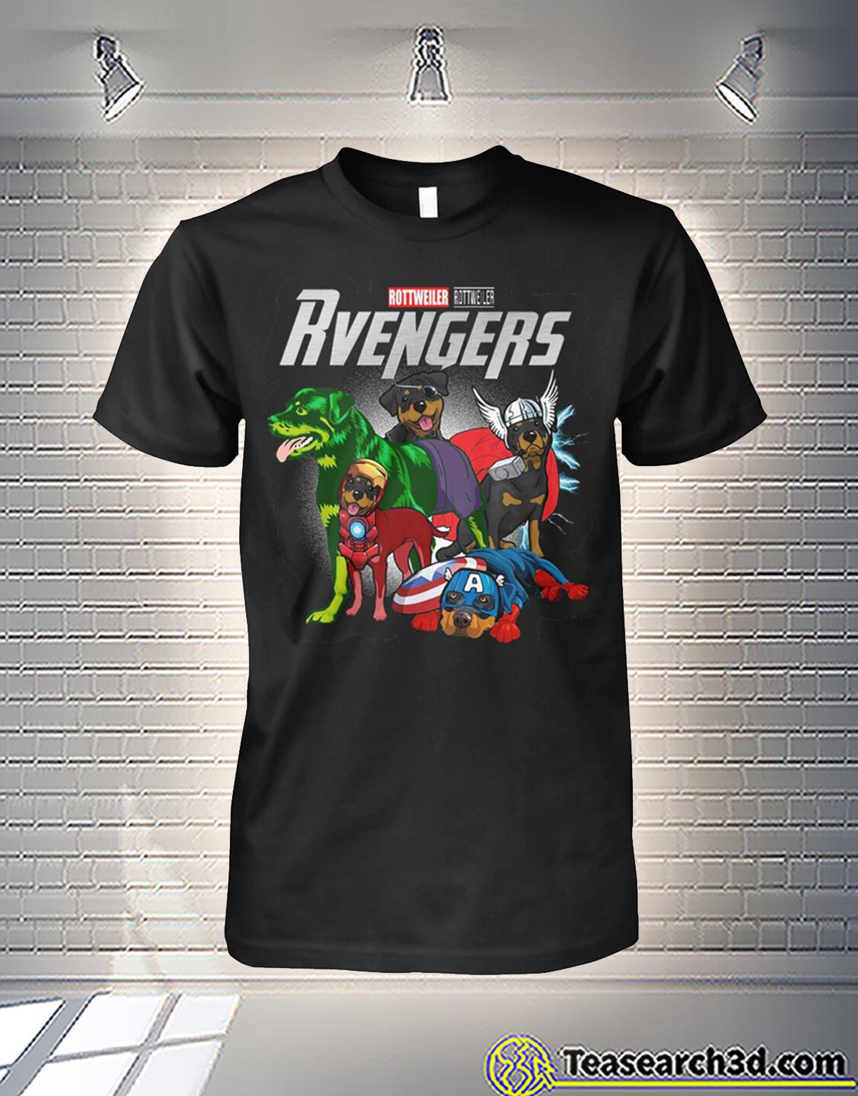 Rottweiler rottweiler rvengers avengers shirt