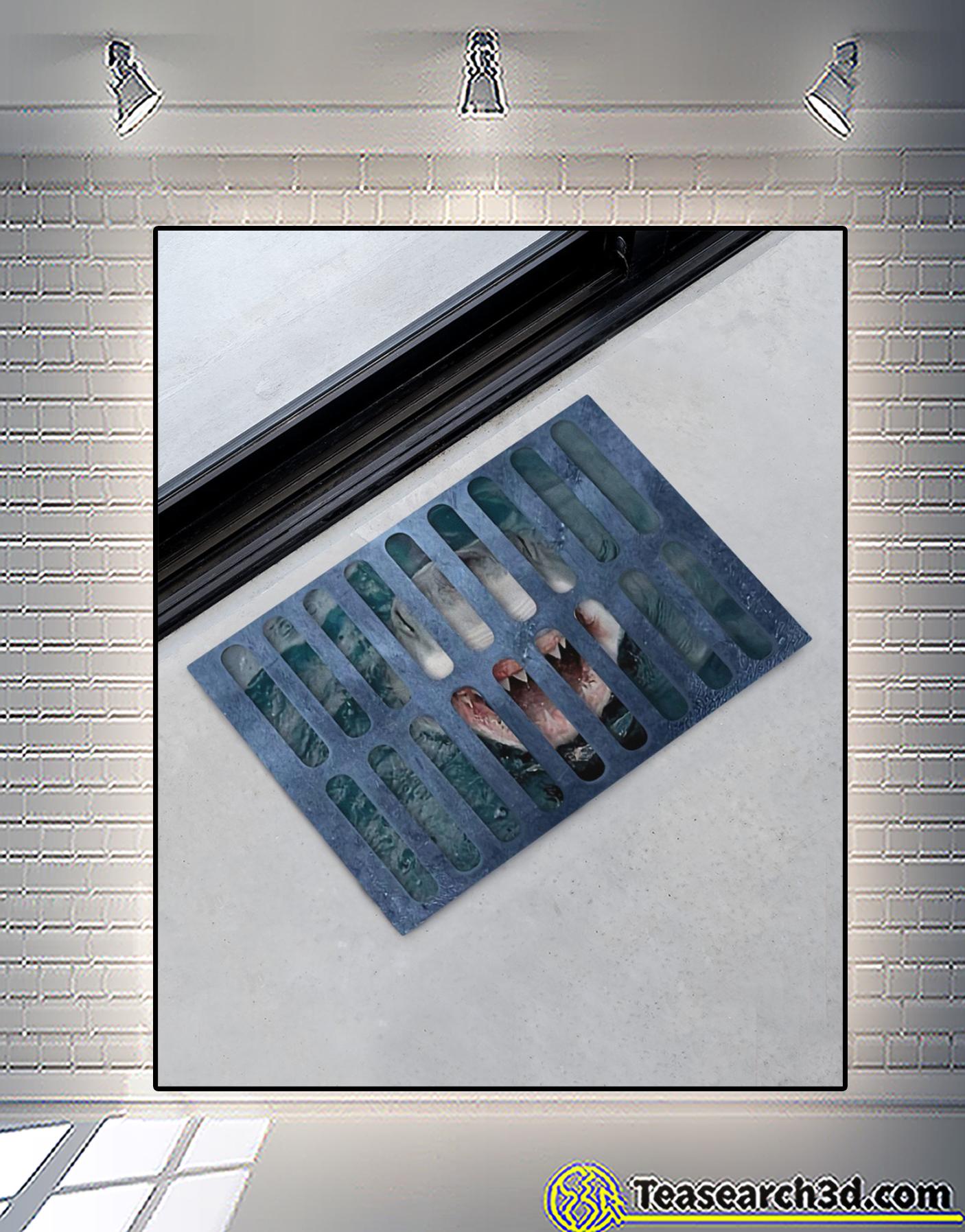 Shark under your feet doormat 3
