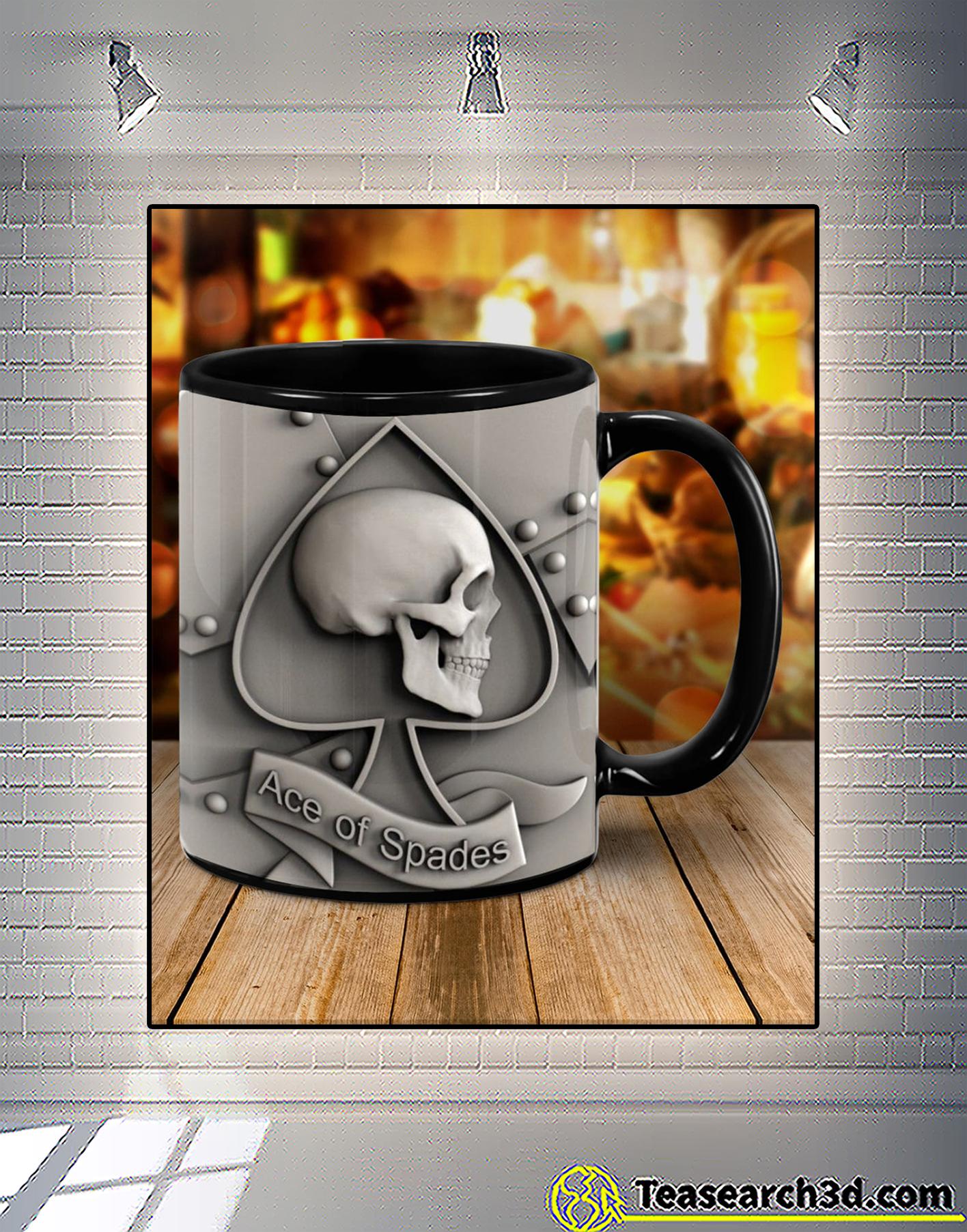 Skull hearts ace of spades mug 1
