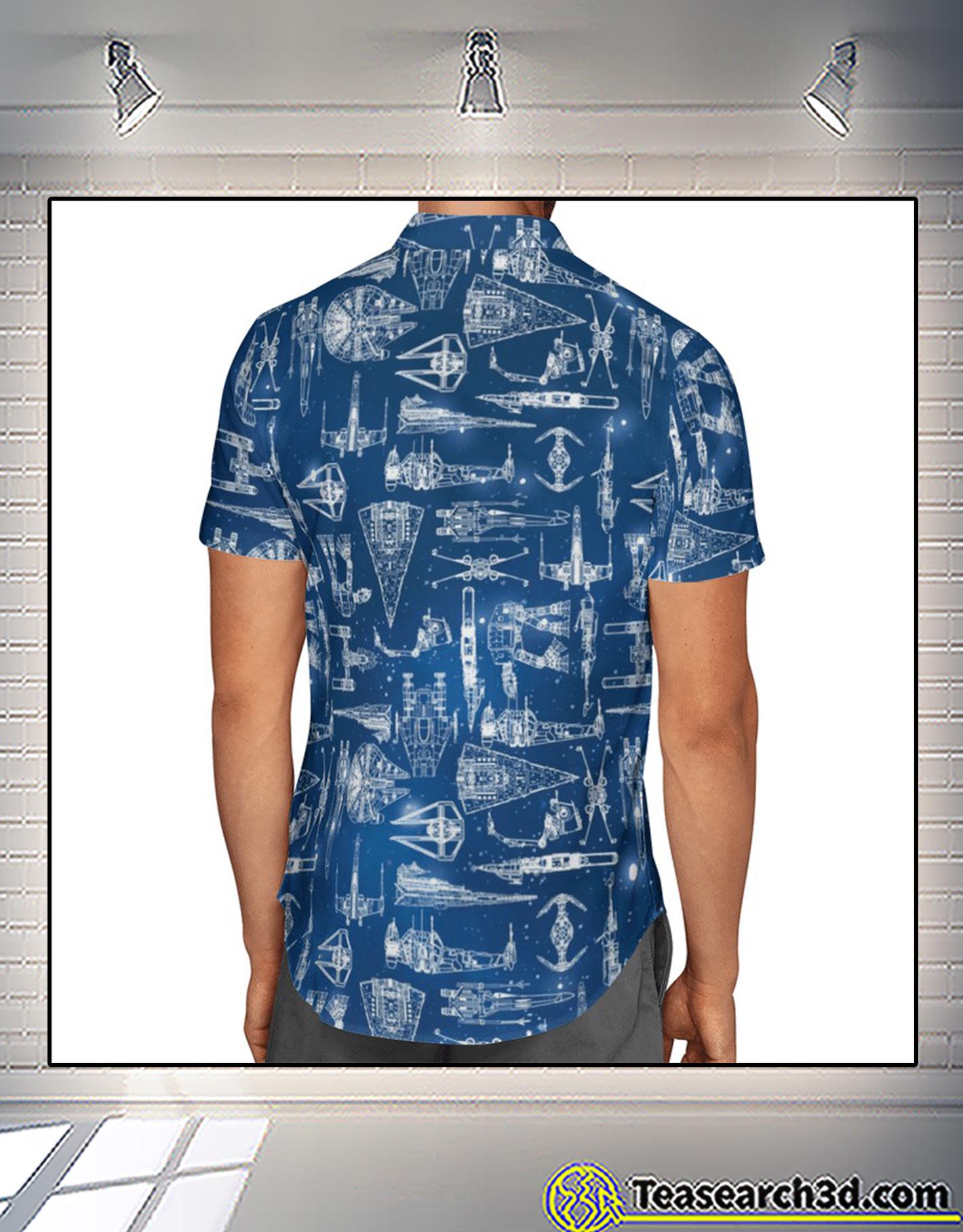 Star wars ship hawaiian shirt 2