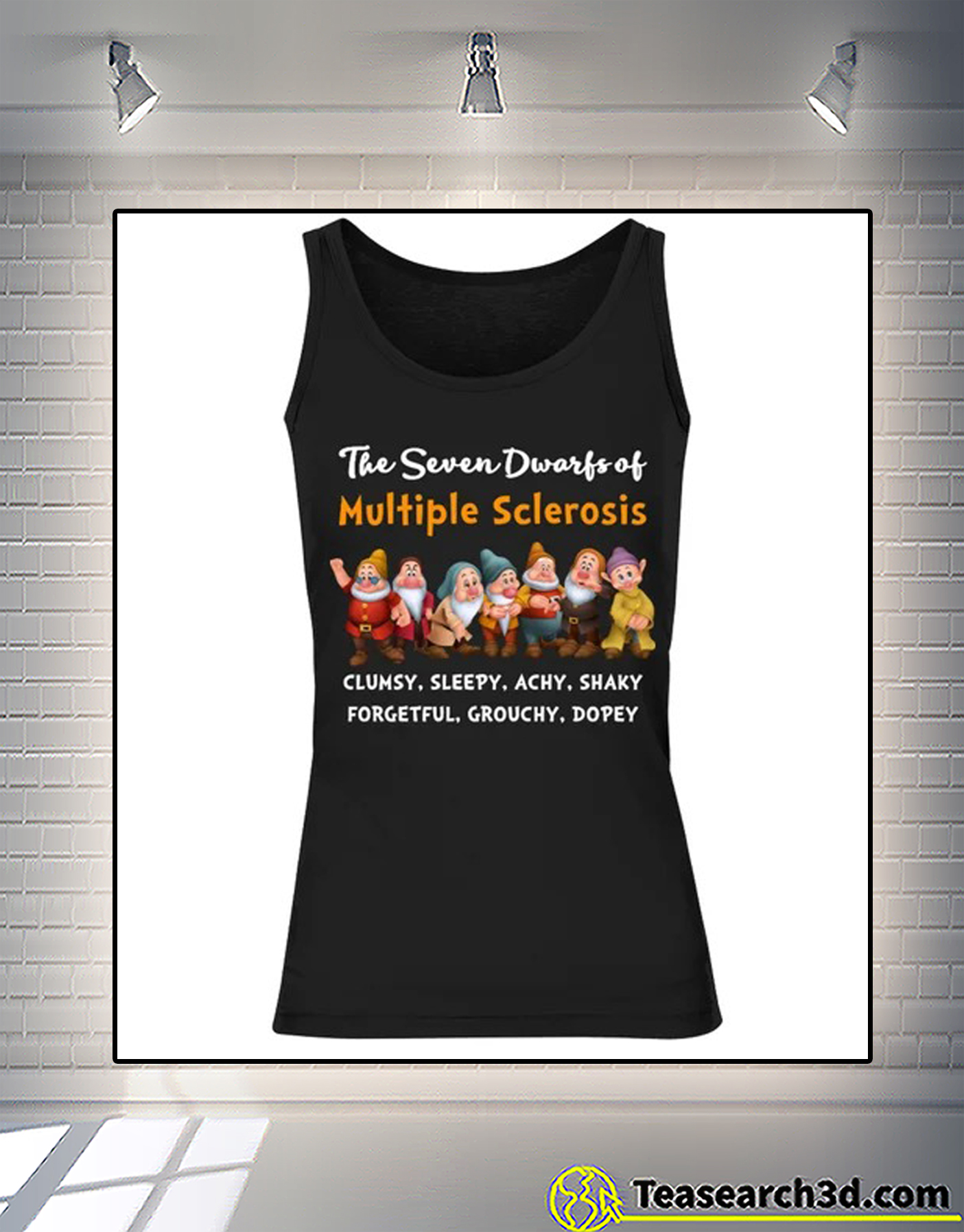 The seven dwarfs of multiple sclerosis clumsy sleepy tank