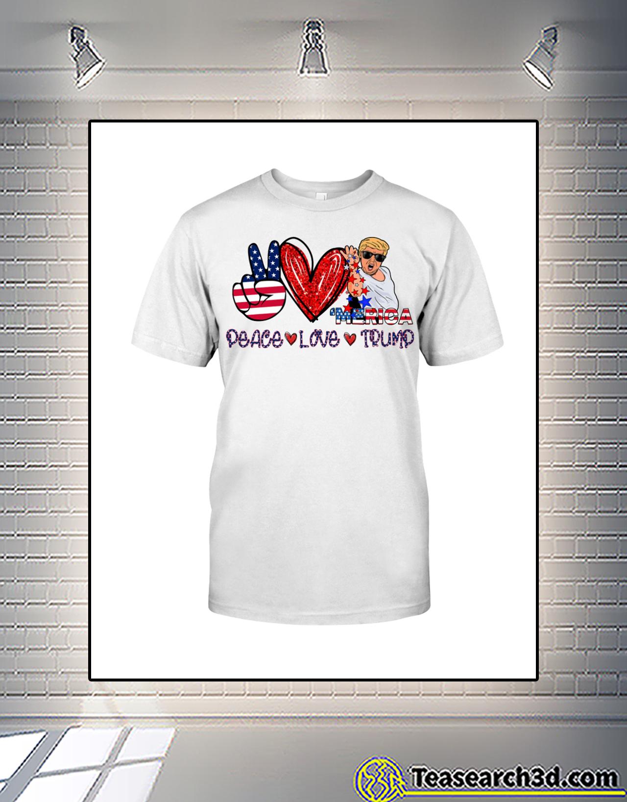 Trump Salt bae merica peace love trump shirt