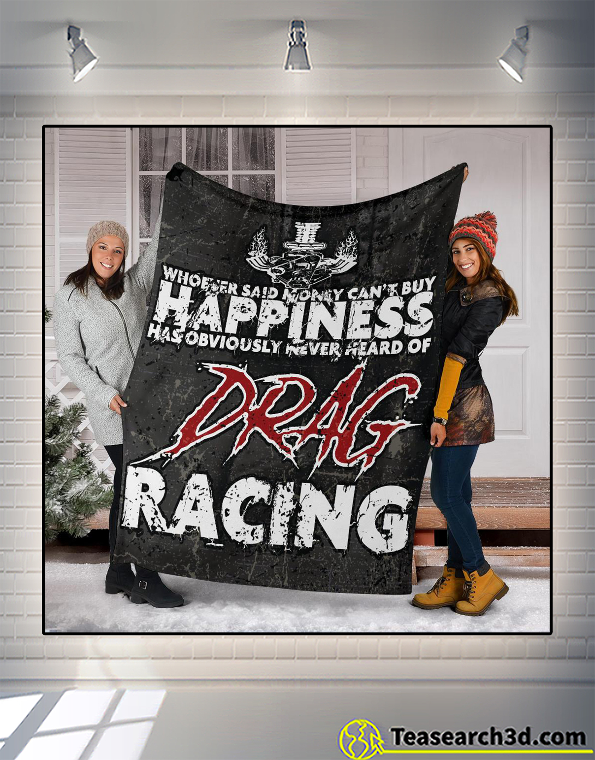 Whoever said money can't buy happiness has obviously never heard of drag racing blanket 2