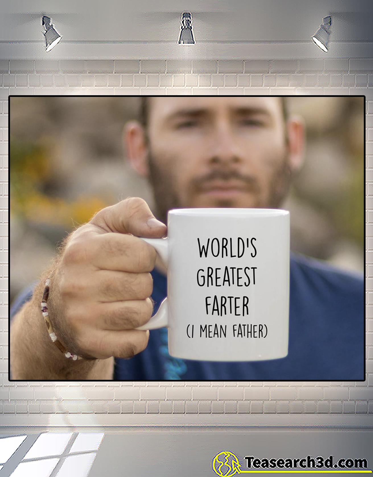 World's greatest farter I mean father mug 1