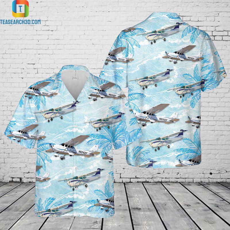 Cessna 172 hawaiian shirt
