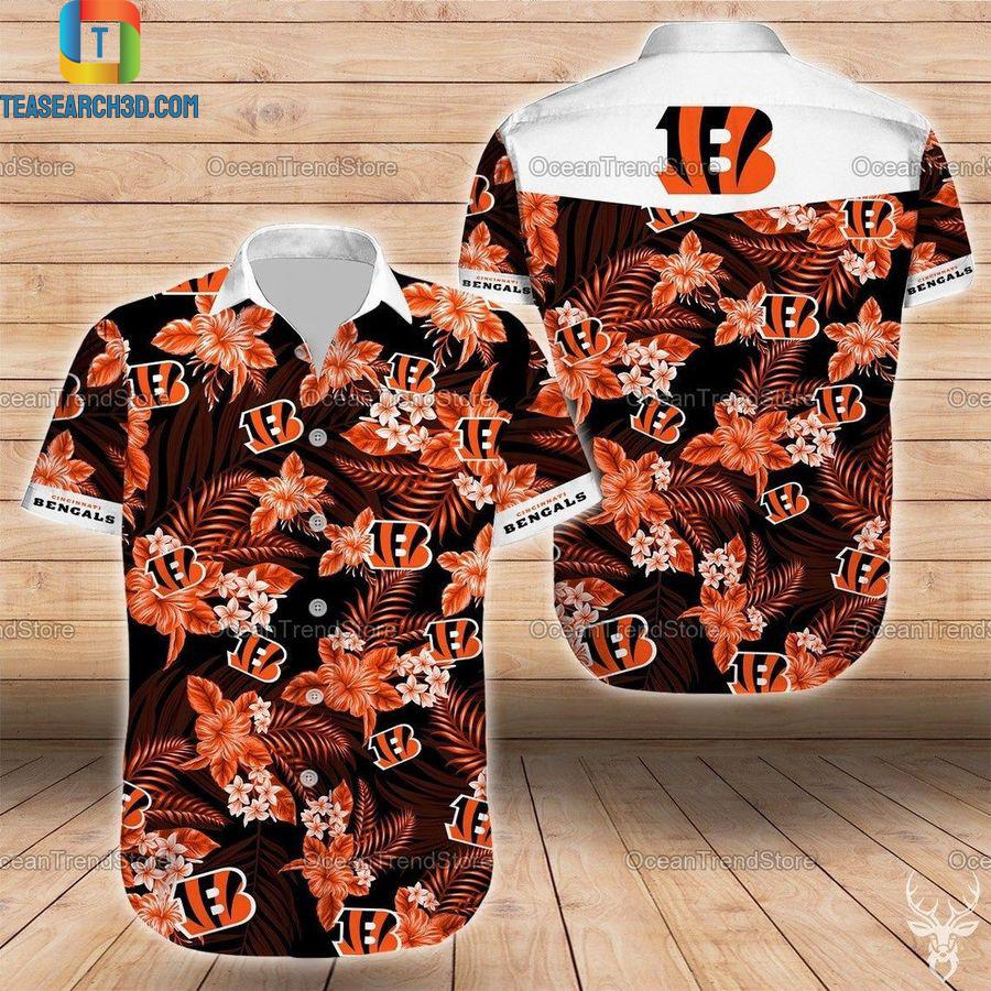 Cincinnati bengals nfl football hawaiian shirt