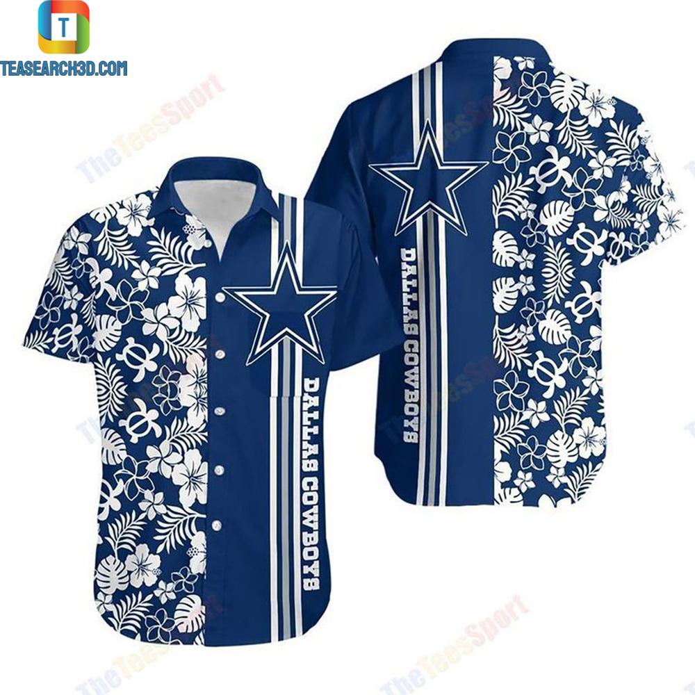 Dallas cowboys nfl football hawaiian shirt 1