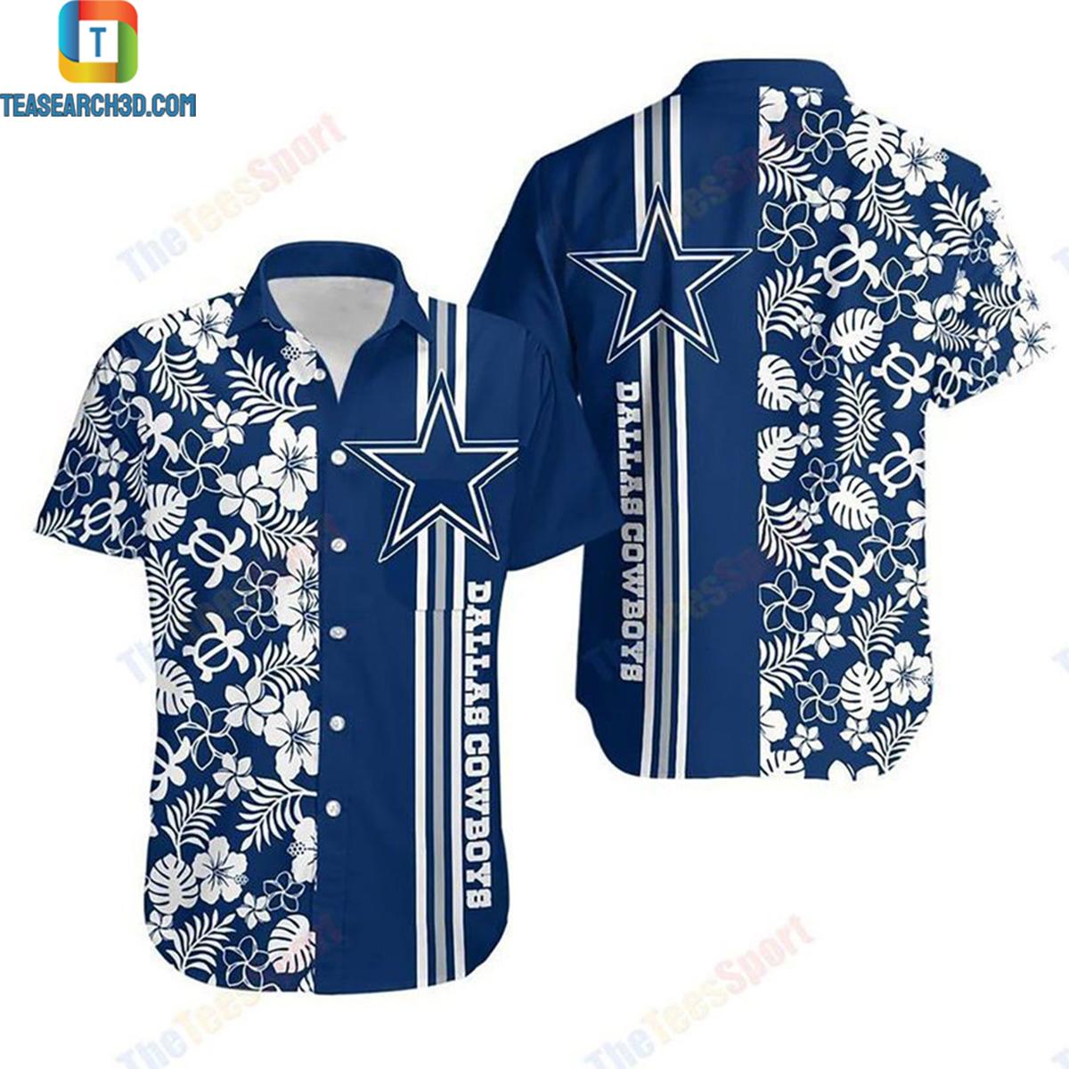 Dallas cowboys nfl football hawaiian shirt 2