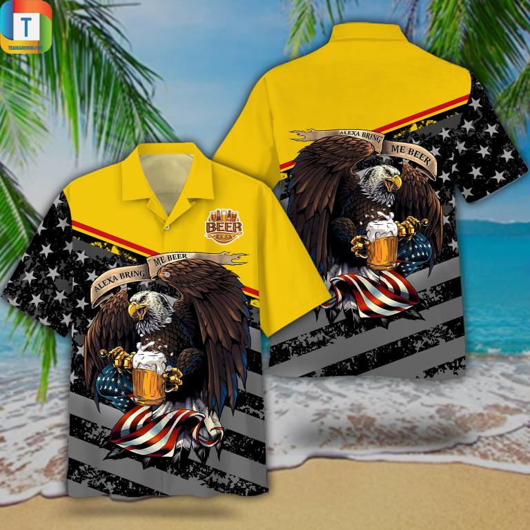 Eagles Alexa Bring Me Beer Hawaiian Shirt Beach Short