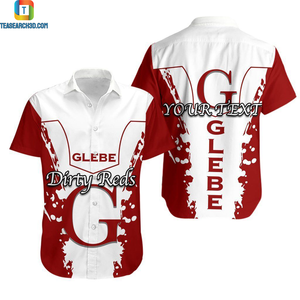 Glebe rugby league team personalized hawaiian shirt