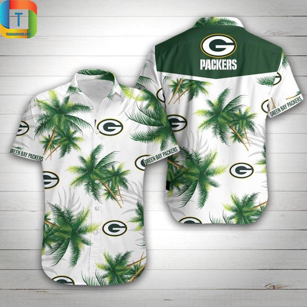 Green Bay Packers Football Hawaiian Shirt
