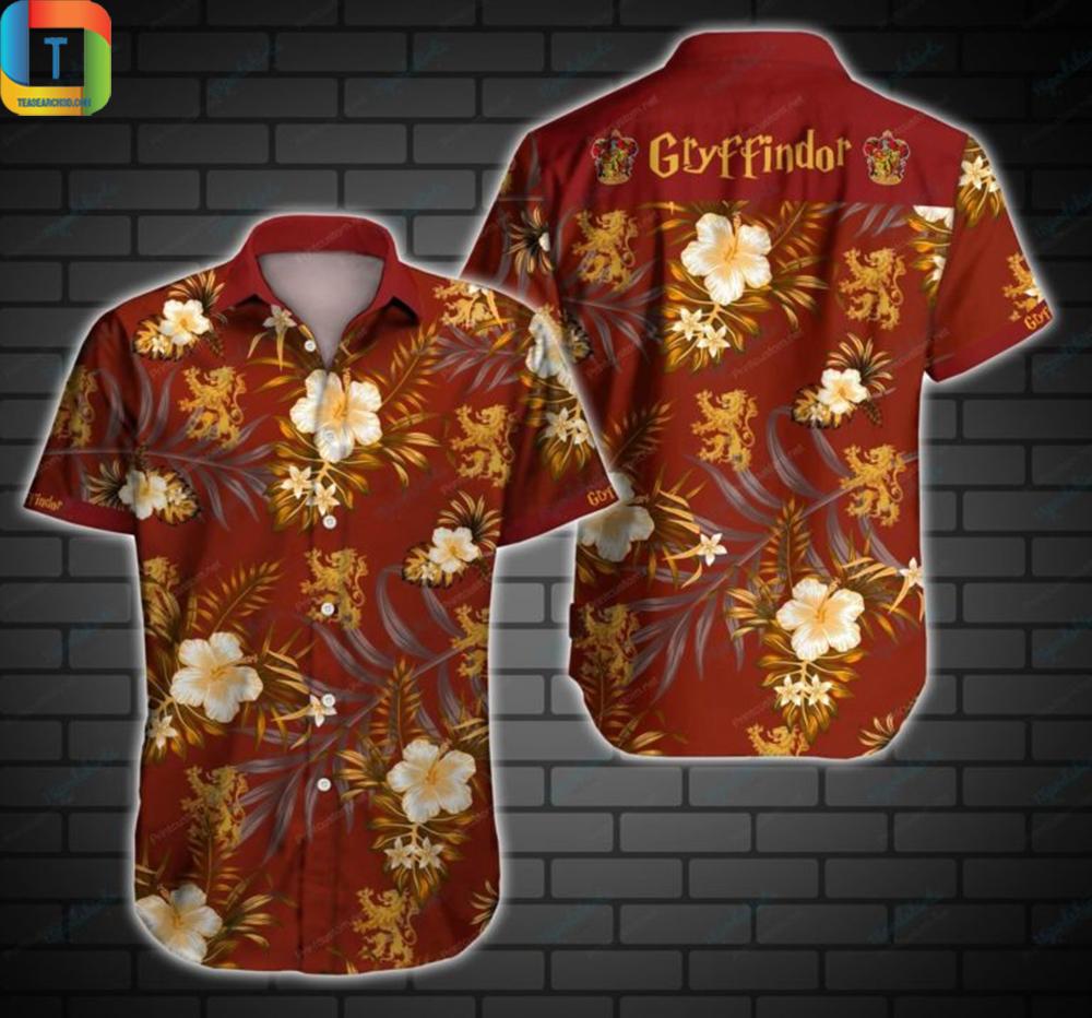 Gryffindor Hawaiian Shirt