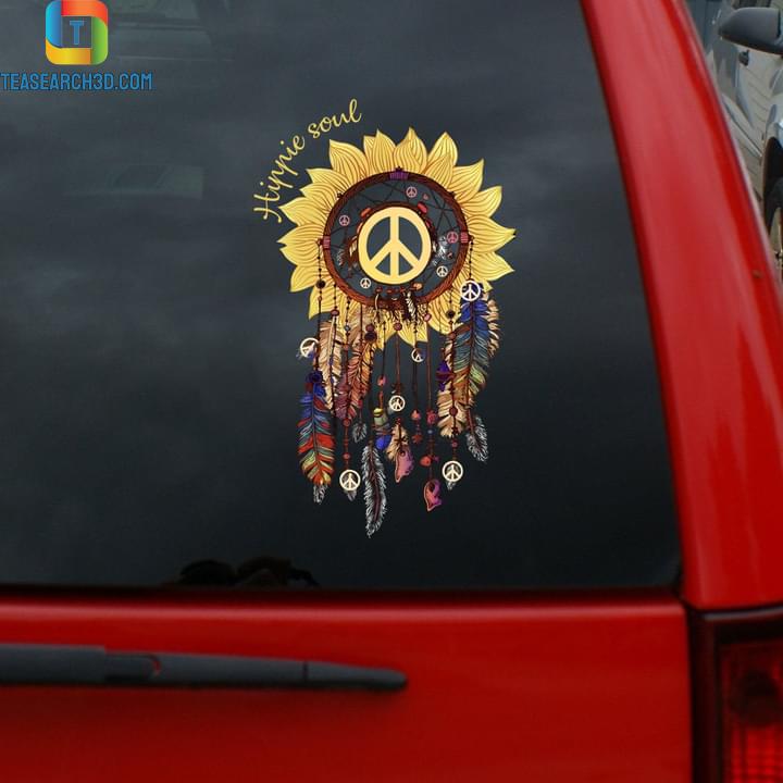 Hippie soul decal sticker