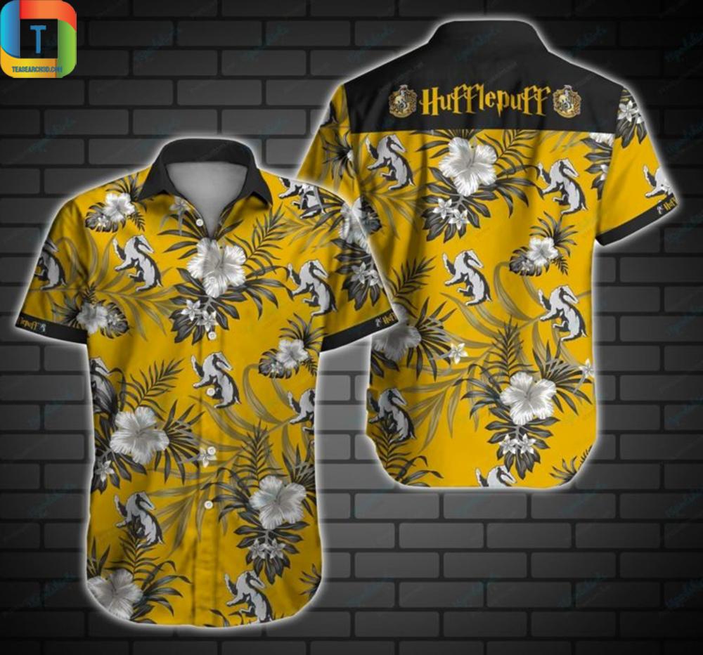 Hufflepuff Hawaiian Shirt