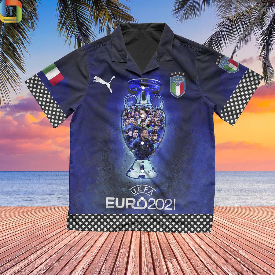 Italy Champion Fashion Hawaiian Shirt