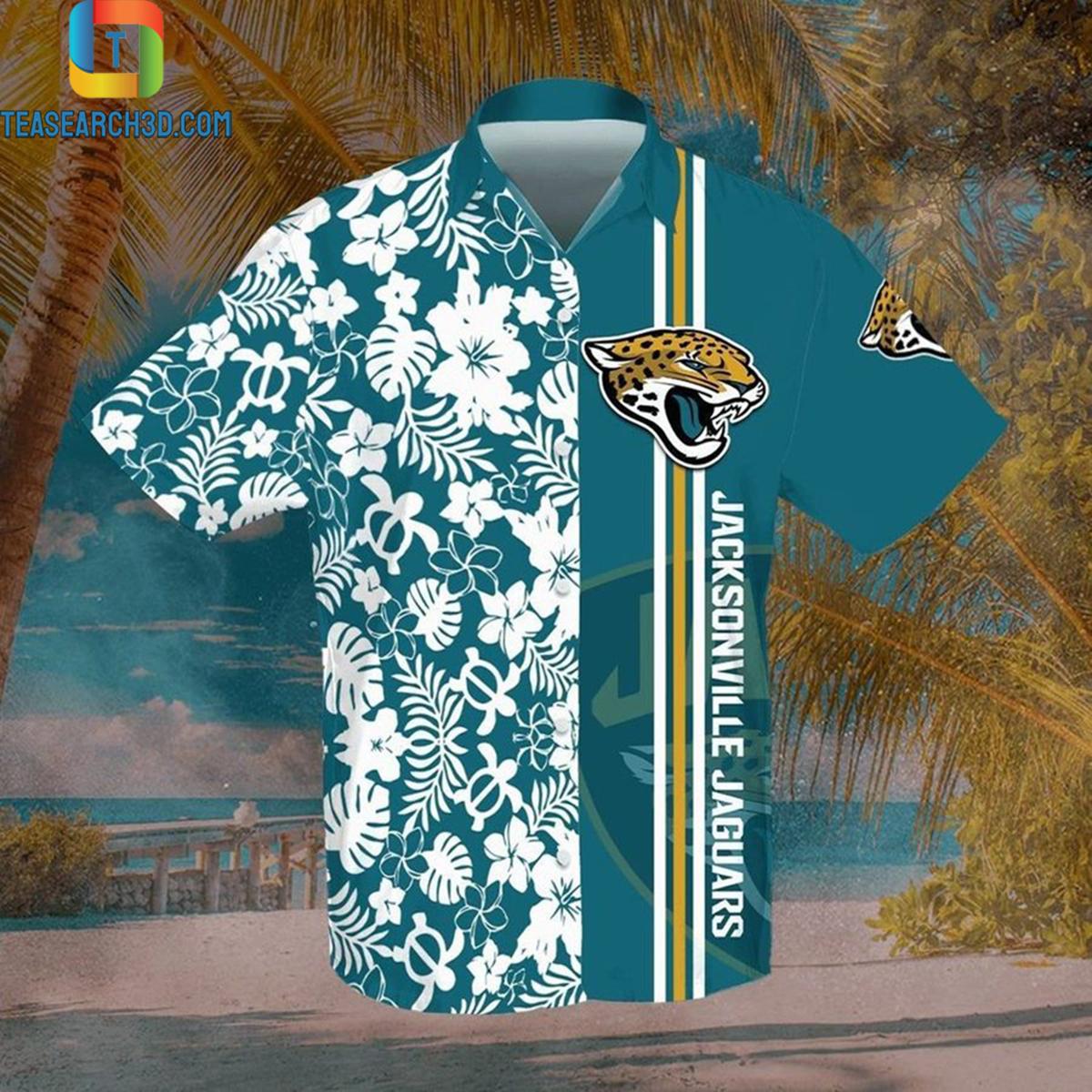 Jacksonville jaguars nfl football hawaiian shirt 2