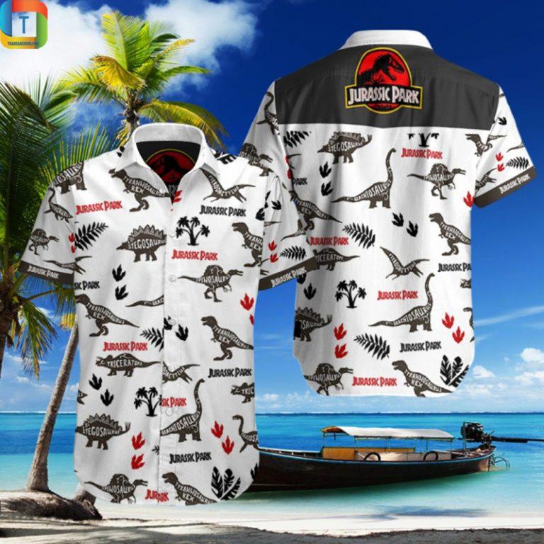 Jurassic Park Hawaiian Shirt