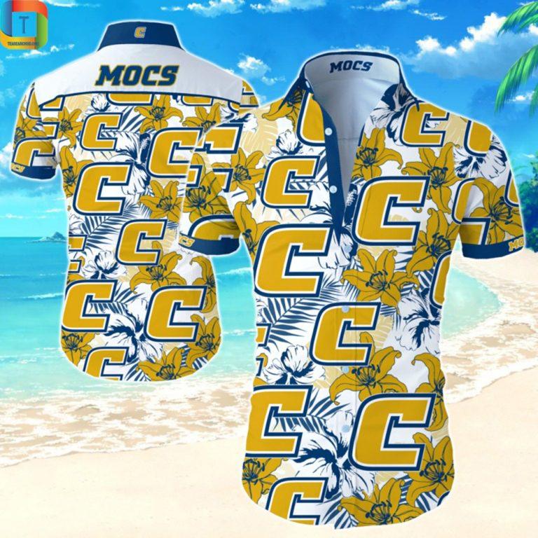 Ncaa Chattanooga Mocs Hawaiian Shirt