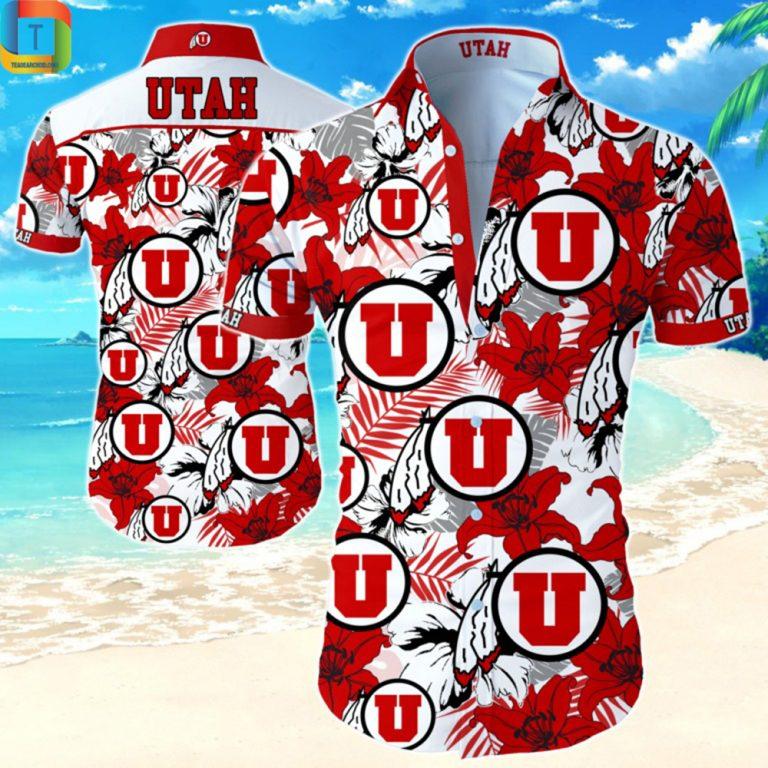 Ncaa Utah Utes Football Hawaiian Shirt
