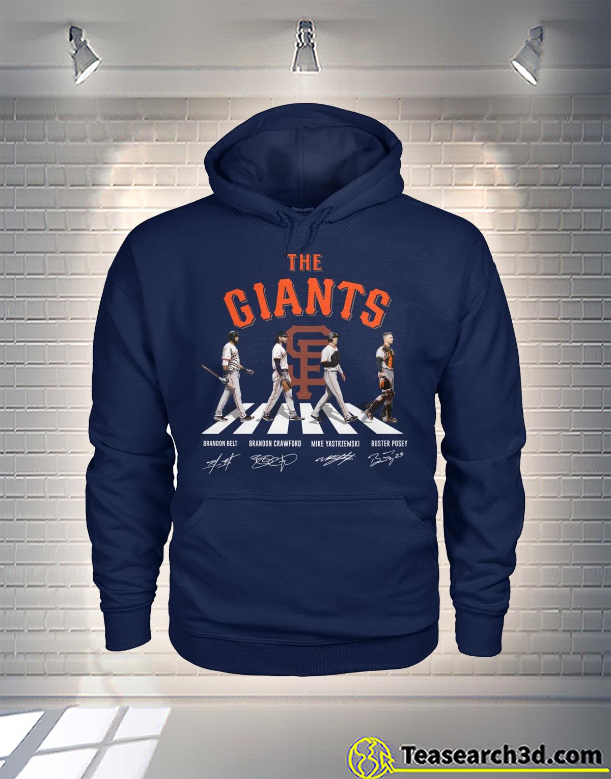 New York Giants Abbey Road Hoodie