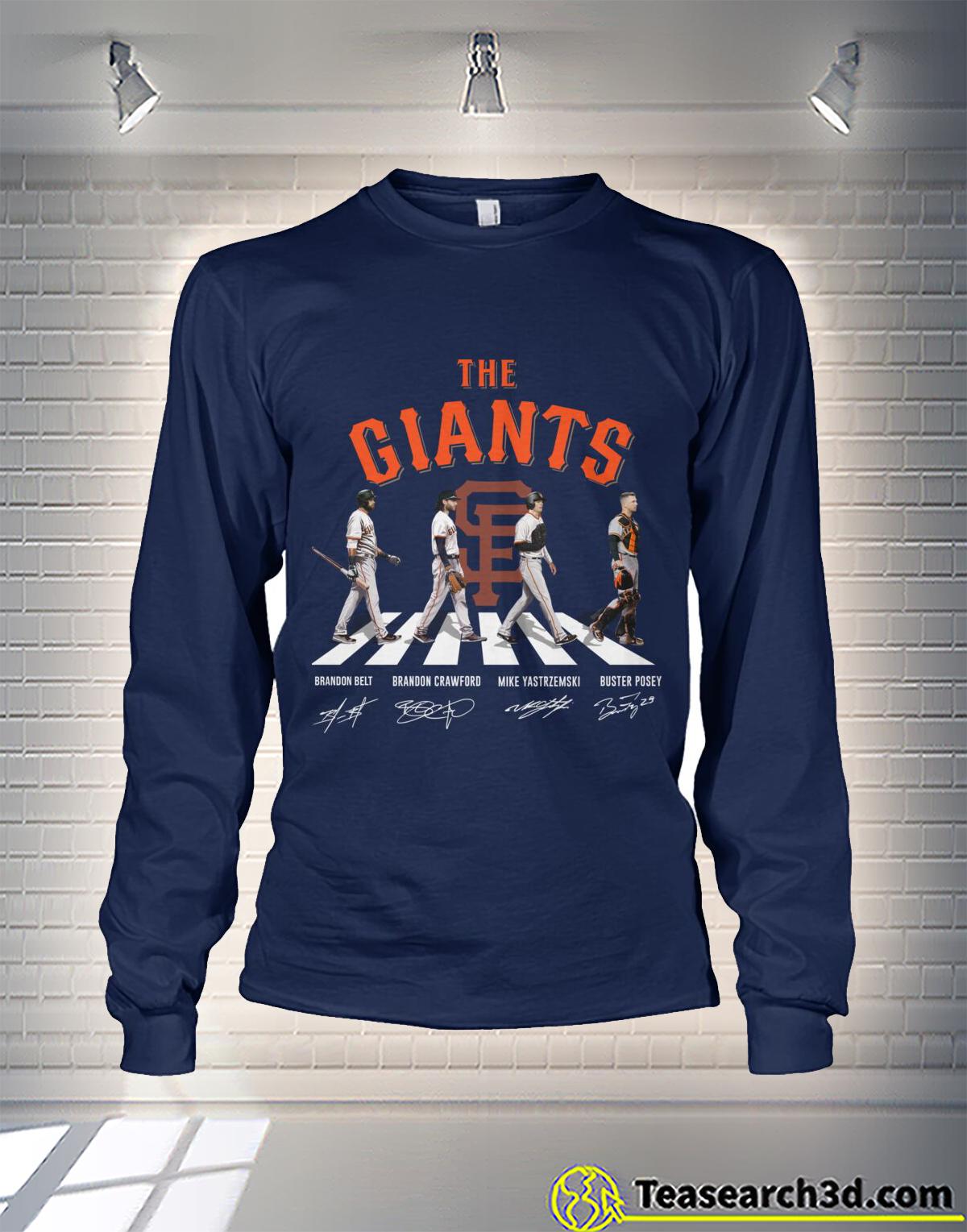 New York Giants Abbey Road Long Sleeve