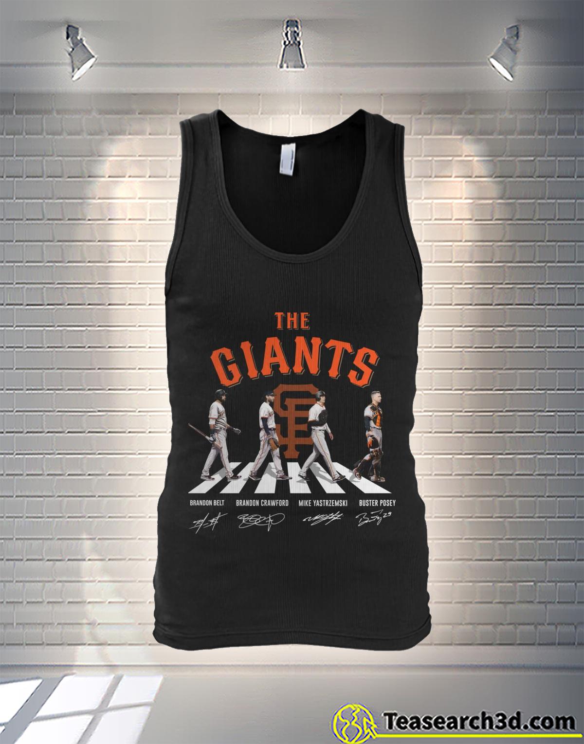 New York Giants Abbey Road Tank