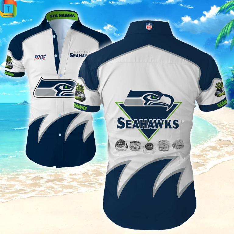 Nfl Seattle Seahawks Hawaiian Shirt