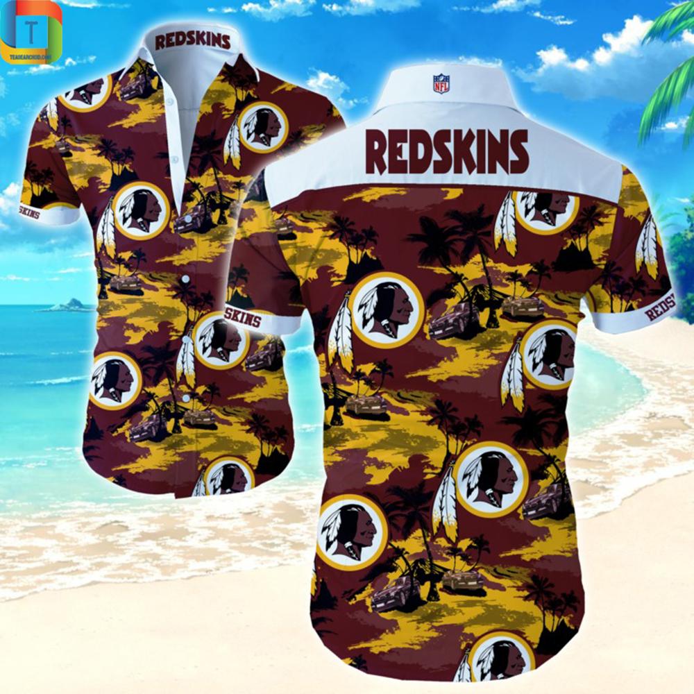 Nfl Washington Redskins Hawaiian Shirt