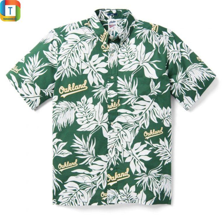 Oakland Athletics Aloha Mlb Hawaiian Shirt