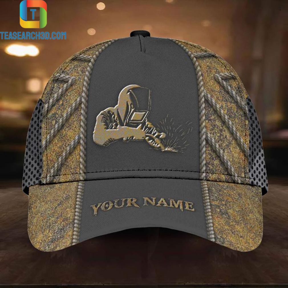 Personalized custom name welder printed vent holes cap