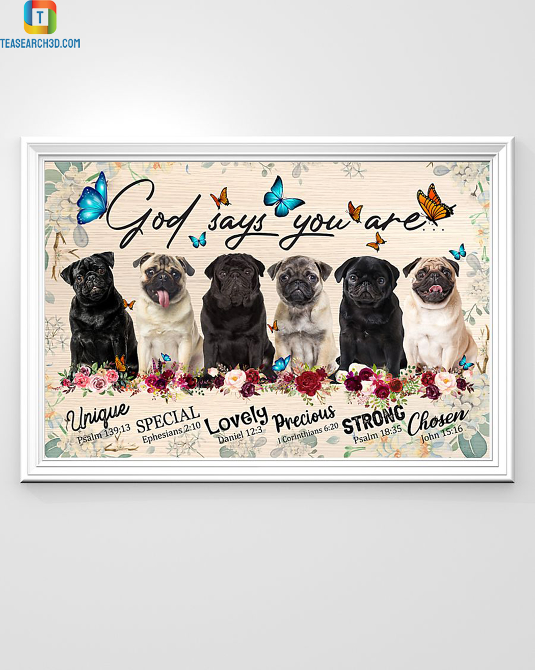 Pugs god says you are poster A1