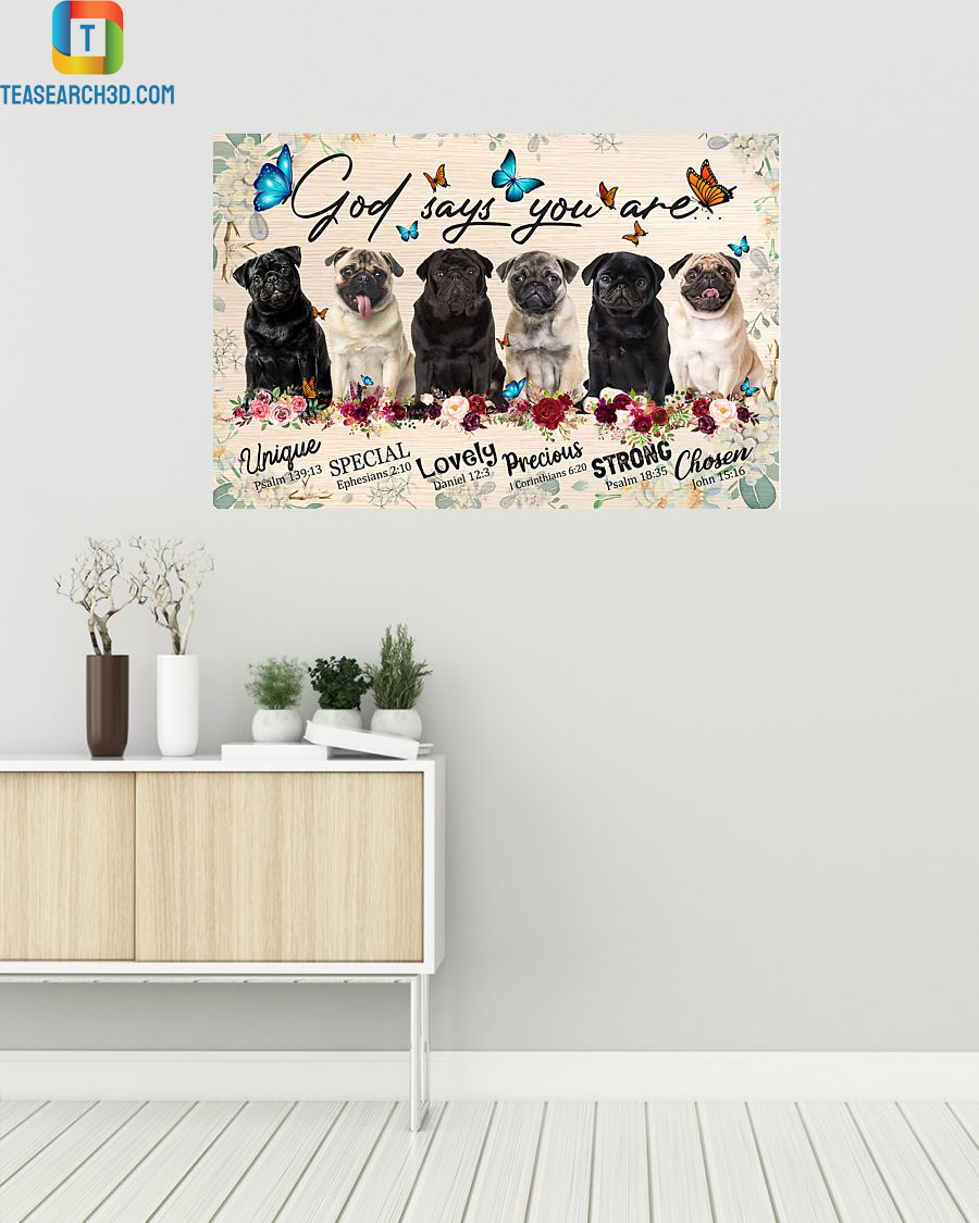 Pugs god says you are poster
