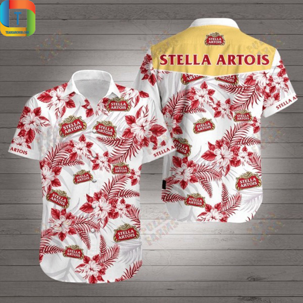 Stella Artois Hawaiian Shirt