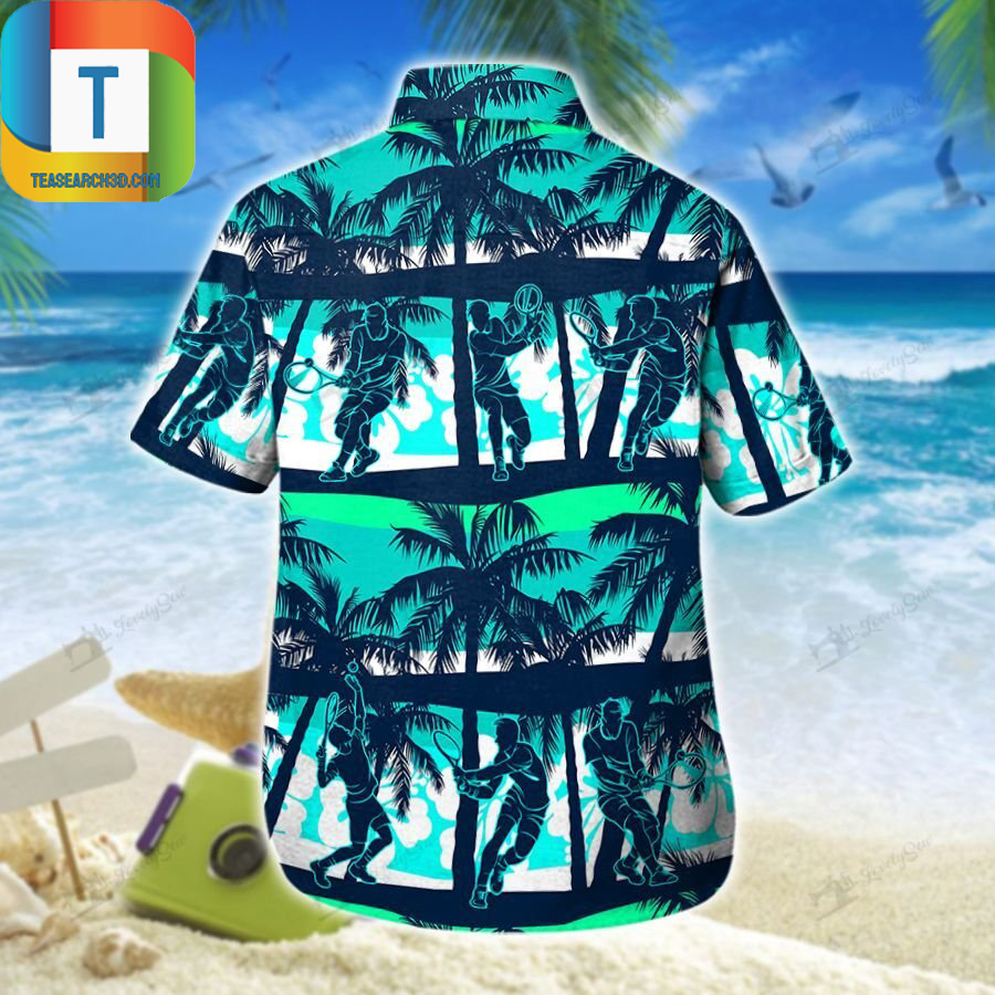 Tennis hawaiian shirt 1