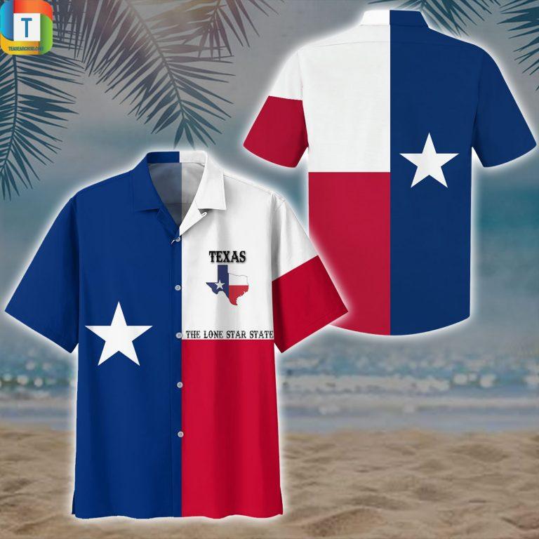 Texas flag the lone star state hawaiian shirt beach short