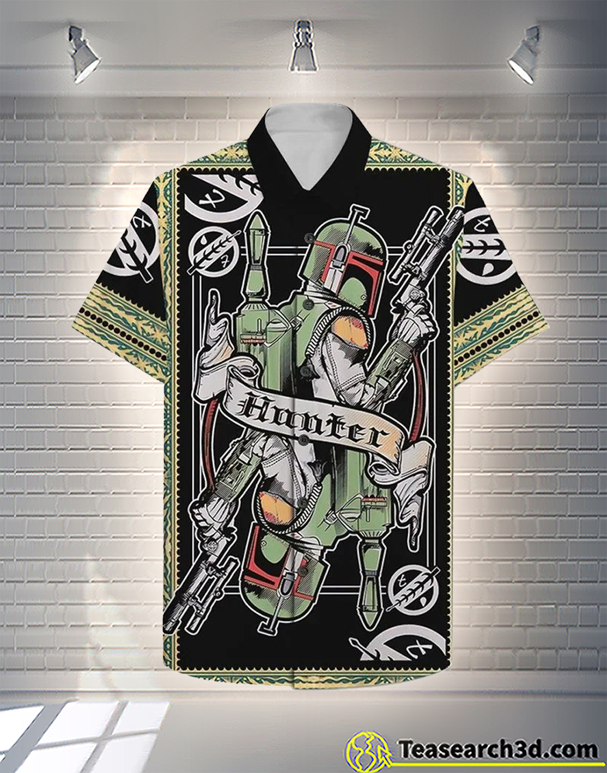 The bounty hunter hawaiian shirt 1