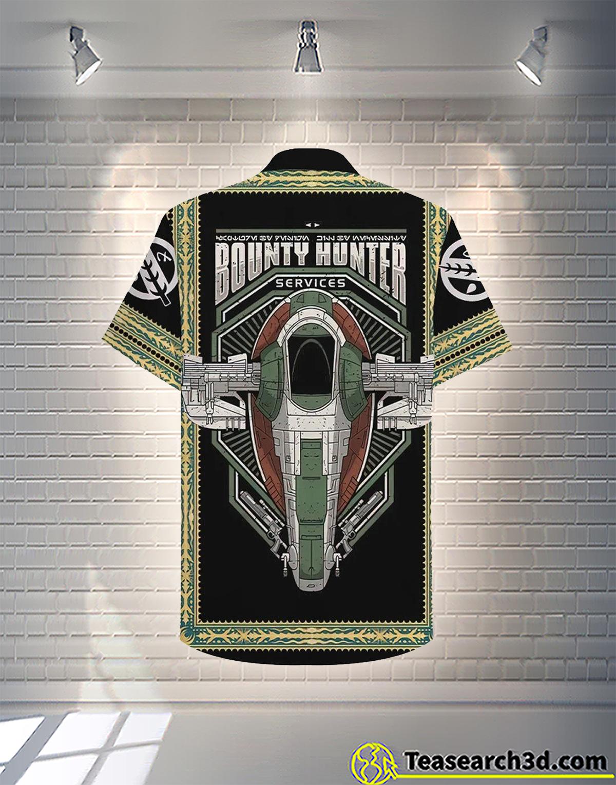 The bounty hunter hawaiian shirt 2