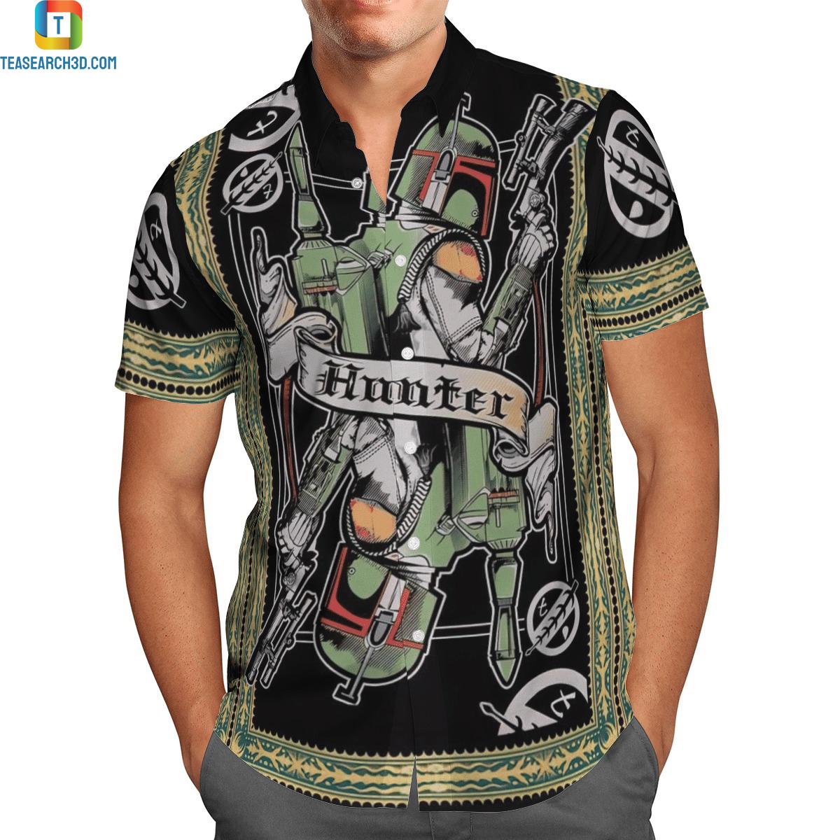 The bounty hunter hawaiian shirt 3