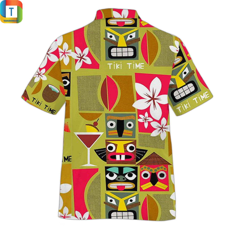 Tiki Time Hawaiian Shirt 1