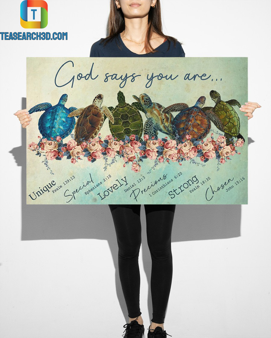 Turtle god says you are poster 3