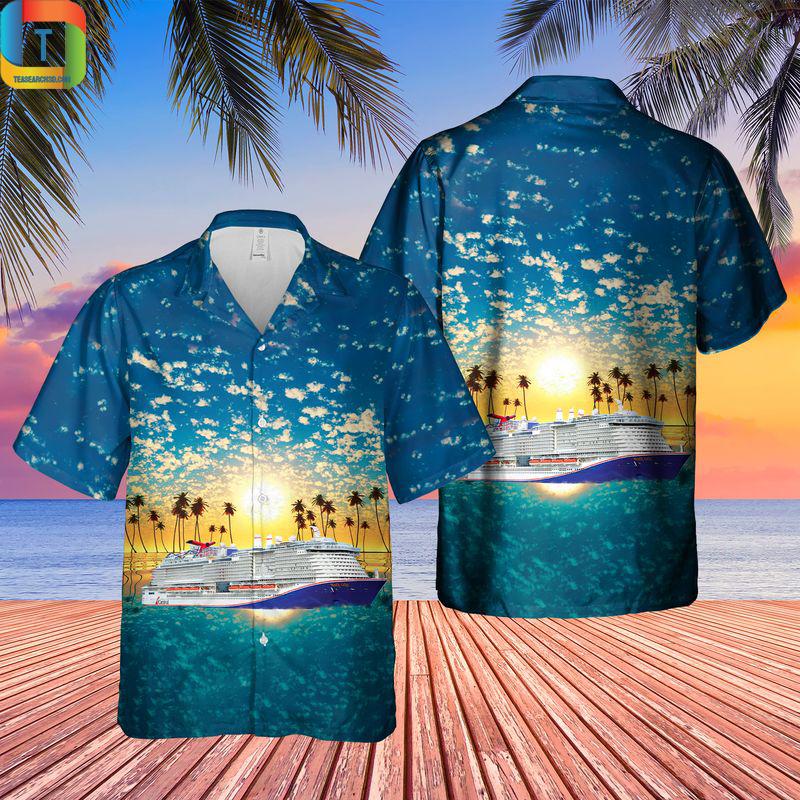 US Cruise Mardi Gras Hawaiian Shirt