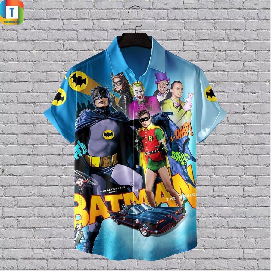 1966 Batman The Movie hawaiian shirt