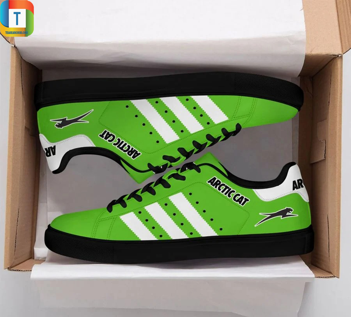Arctic cat stan smith low top shoes 3