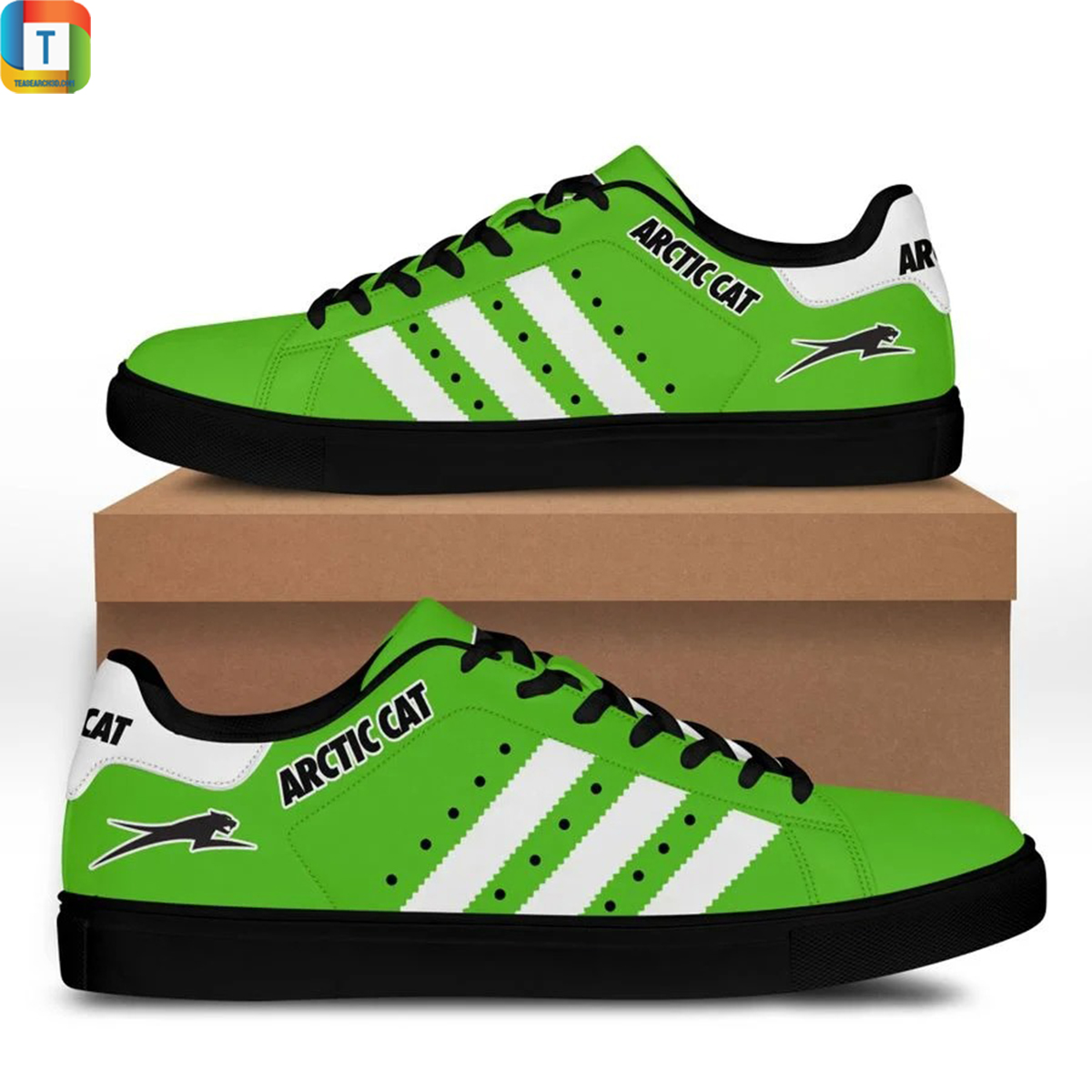 Arctic cat stan smith low top shoes