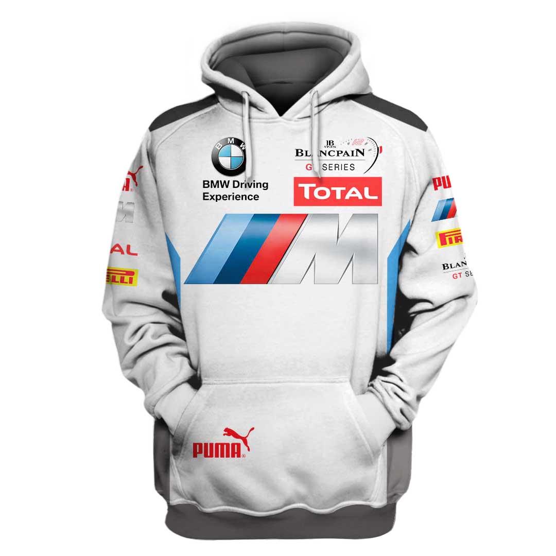 BMW Driving Experience Racing 3D Full Printing Hoodie