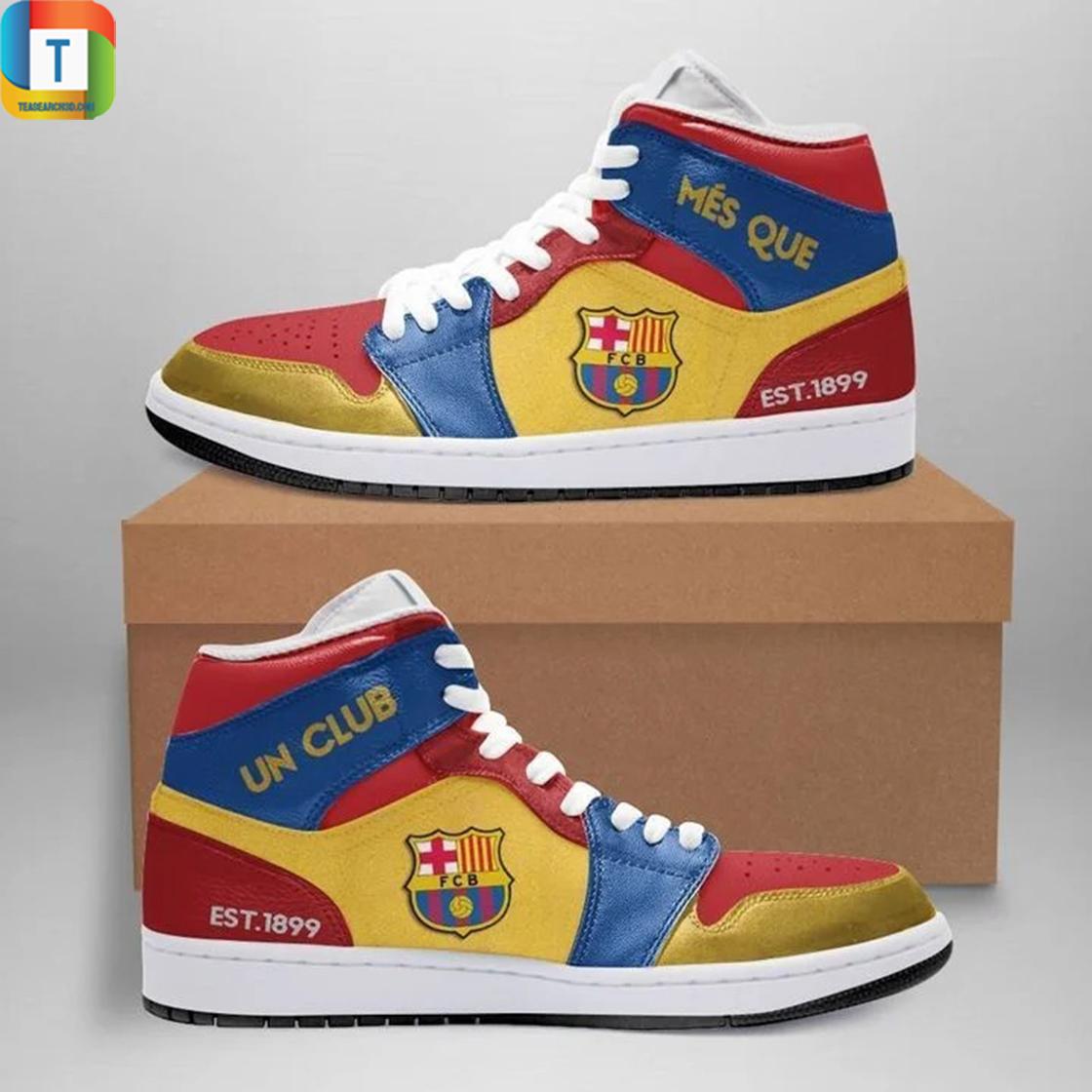 Barcelona jordan high top high top shoes 3