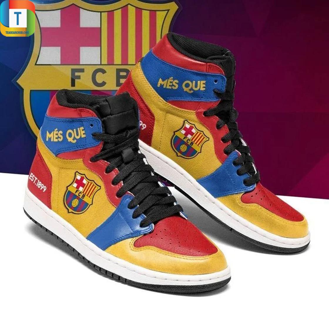 Barcelona jordan high top high top shoes